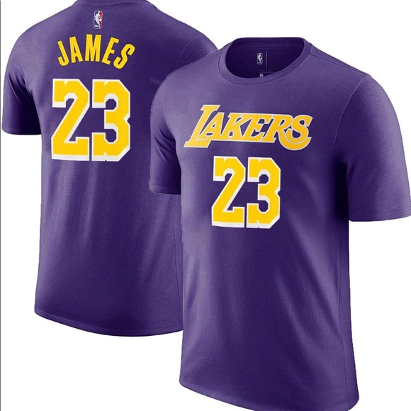 official photos 718d8 a4af3 LeBron James Los Angeles Lakers Jersey T-Shirt